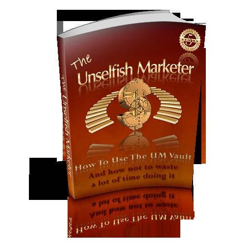 Unselfish Marketer eBook by JayKay Bak